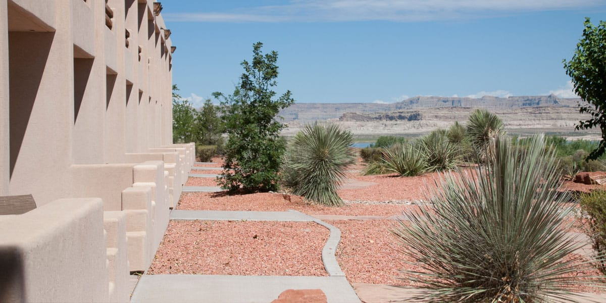 Lake Powell Xeriscaping